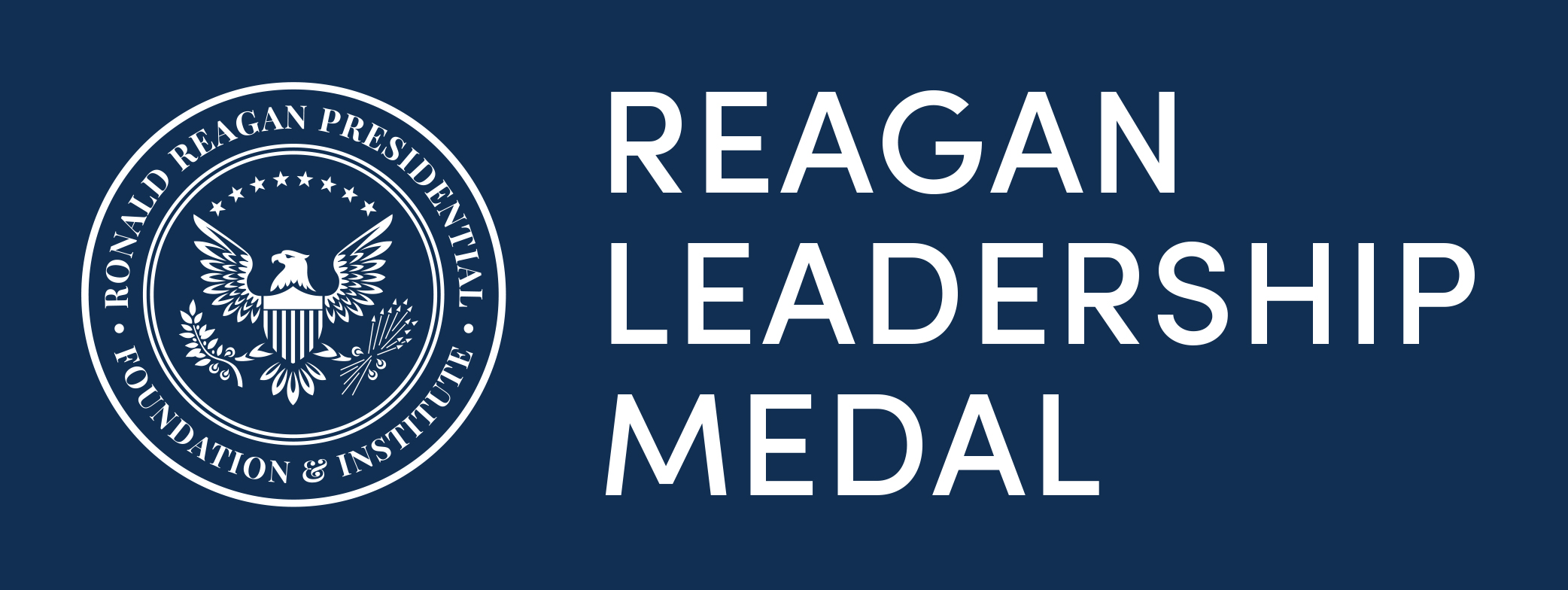 2019 Reagan Leadership Award Logo